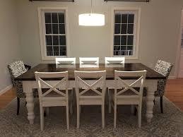 chunky wood table legs two farm tables feature the husky dining leg osborne wood videos