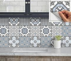 kitchen decals for backsplash wall tile vinyl decal sticker for kitchen bath by snazzydecal