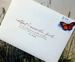 wedding invitations envelopes wedding invitation envelope addressing fonts matik for