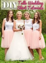 wedding skirt diy tulle wedding skirt tutorials shop girl daily