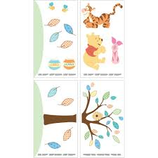 disney baby pooh wall decals walmart com