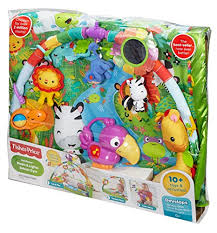 fisher price rainforest music and lights deluxe gym playset fisher price music and lights deluxe gym rainforest wall s