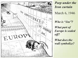Iron Curtain Political Cartoons Cold War In Germany