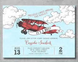 precious cargo baby shower vintage airplane baby shower invitation precious cargo