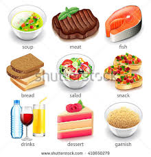 cuisine types food types icons detailed photo เวกเตอร สต อก 410650279