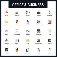 icone de bureau bureau et icône set télécharger des vecteurs gratuitement
