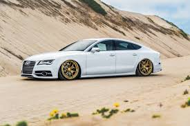 lexus ls vs audi a7 audi s7 lowered with nice wheels and the beautiful four rings