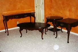 cherry end tables queen anne amazing impressive coffee table cherry wood set decoration in 2016