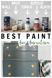 what s the best paint to use on kitchen doors best type of paint for furniture refresh living