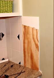 KITCHEN UPDATE  Goodbye Tile Backsplash - Covering tile backsplash