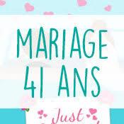 41 ans de mariage carte anniversaire mariage virtuelle gratuite à imprimer