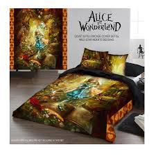 Duvet And Pillow Covers Amazon Com Wild Star Alice In Wonderland Duvet And Pillowcase