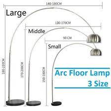 Vintage Retro Black Color Long Arm Fishing Metal Floor Floor Standard Lamps Ebay