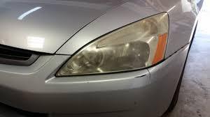 replaced dull headlights big improvement honda tech honda
