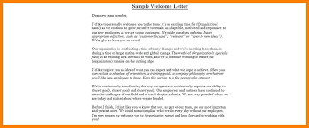 9 new employee welcome letter sample template joblettered