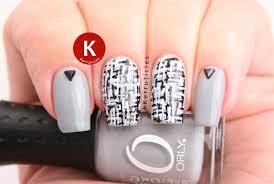 nail art 40 unbelievable grey nail art photo design nail art in