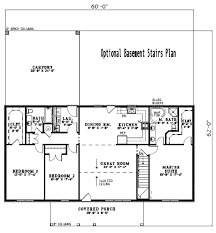 Rectangle Floor Plans House Plan 3 Beds 2 00 Baths 1800 Sq Ft Plan 17 2141