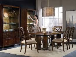 hooker furniture dining room skyline trestle dining table 5336 75206