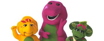 barney dinosaur franchise voice actors