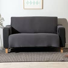 plaid noir pour canapé canape plaid noir canape bien pour 2 places 1 prot232ge canap233