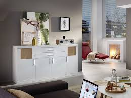 Schlafzimmer Kommode In Weiss Hochglanz Jerry Sideboard Weiß Hirnholz