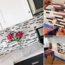 install tile backsplash kitchen kitchen how to install tile backsplash for trendy kitchen design