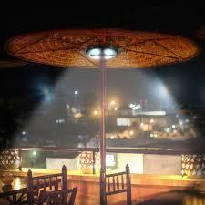 Patio Umbrella Lighting Kingso Rechargeable Patio Umbrella Light For On The Patio