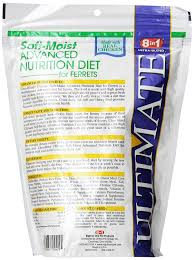 amazon com 8 in 1 ultimate ferret soft moist diet 24 ounce