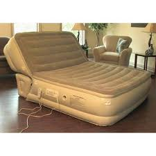 aerobed incline full size airbed air mattress guest bed 18 high