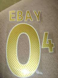 football gold iron on numbers and letters football rugby shirts ebay