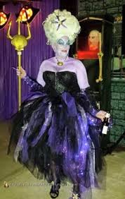 ursula costume omg so easy wrap for ursula tentacles paint it black on