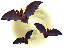 halloween png creepy halloween moon with bats png clipart gallery