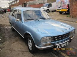 peugeot classic cars peugeot 504 family 7 seater estate classic car mot and taxed