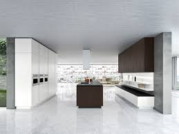 contemporary kitchen wood veneer island lacquered idea by