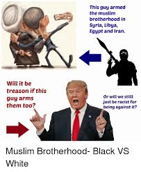 Racist Muslim Memes - will it be treason if this guy arms them too this guy armed the