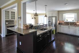 floating island kitchen floating kitchen island traditional kitchen philadelphia