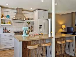 kitchen island with breakfast bar and stools preferential buffer pedestal base added by silver steel kitchen