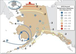 Barrow Alaska Map by Annual Statewide Summary 2012 Alaska Climate Research Center