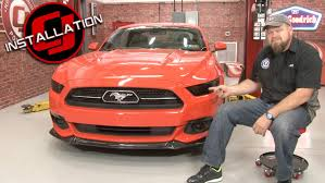 tail light tint installation mustang complete front and rear light tint kit with 50th anniv tail