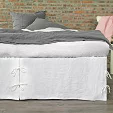 Anthropologie Bed Skirt Best 25 Bedskirts Ideas On Pinterest Burlap Bedroom Ruffle Bed