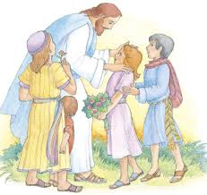 cute jesus with children clipart clip art library