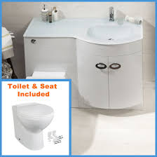d shape bathroom vanity unit basin sink bathroom wc unit btw