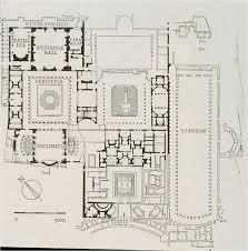 Caesars Palace Floor Plan Plan Flavian Palace Domus Augustana Rome History Of