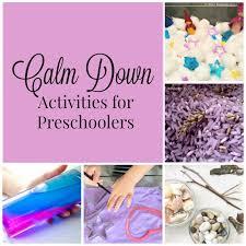 calming activities for preschoolers how wee learn