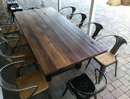 custom round dining tables dining table reclaimed wood steel dining custom round table square