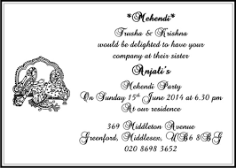 mehendi cards mehendi card wordings