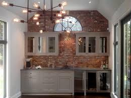 faux brick tile backsplash backspalsh decor