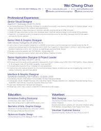 Senior Web Designer Resume Sample by Impressive Front End Web Developer Resume 16 Front End Developer