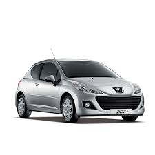 rent a car peugeot peugeot 207 car rental autotravel heraklion crete