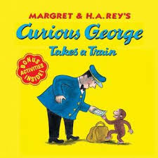curious george takes train margret rey